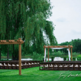 Pergola Ceremony site